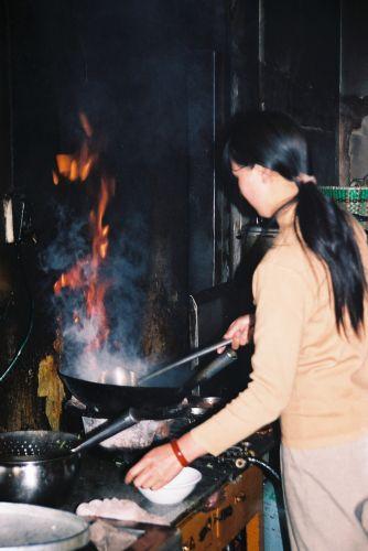 Zdjęcia: Deqen, w kuchni, CHINY