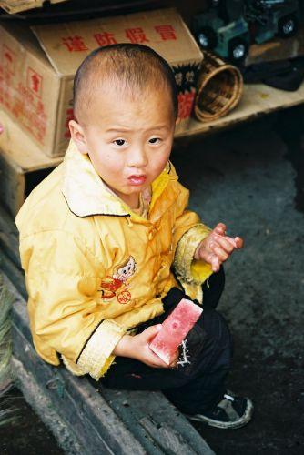 Zdjęcia: Deqen, Na targowisku, CHINY