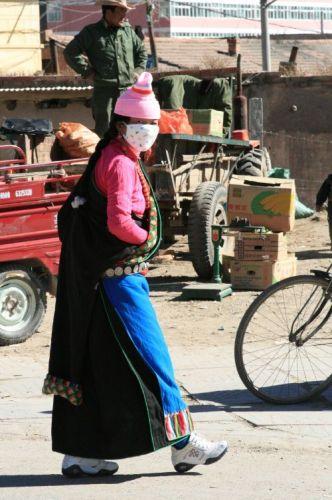 Zdjęcia: Xiahe, prowincja Gansu, Tybetanka, CHINY