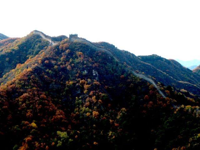 Zdjęcia: Niedaleko Pekinu, Wielki Mur, CHINY