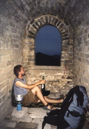 Zdjęcia: Huanghua, Hebei, Wieczór na Murze, CHINY