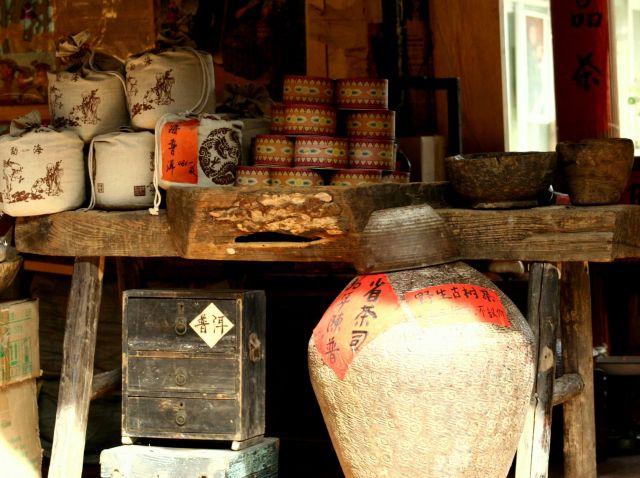Zdjęcia: Lijiang, sklep, CHINY