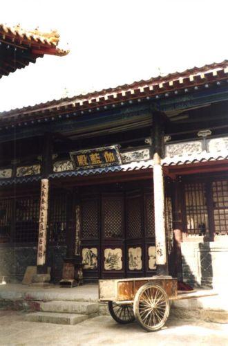 Zdj�cia: WuTaiShan, Shanxi, Klasztor, CHINY