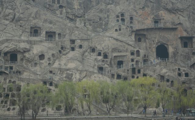 Zdj�cia: Longmen Shiku, Buddyjskie groty, CHINY
