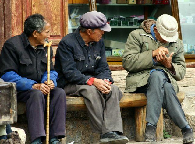 Zdjęcia: Lijigan, spotkanie na pogaduszki, CHINY