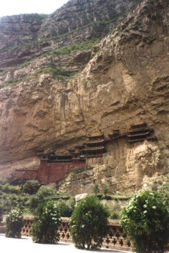 Zdj�cia: Heng Shan, Shanxi, Wisz�ce klasztory, CHINY