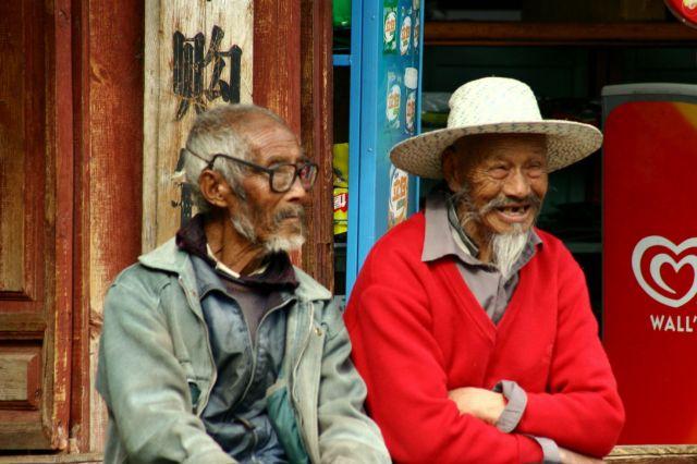 Zdjęcia: lijigang, starosc rownierz bywa wesola czasami;), CHINY