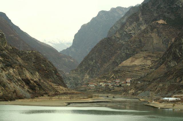 Zdjęcia: syczuan, w drodze do Jiuzhaigou, CHINY