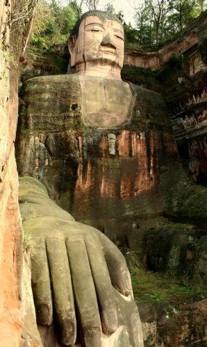 Zdj�cia: Leshan, Budda 2, CHINY
