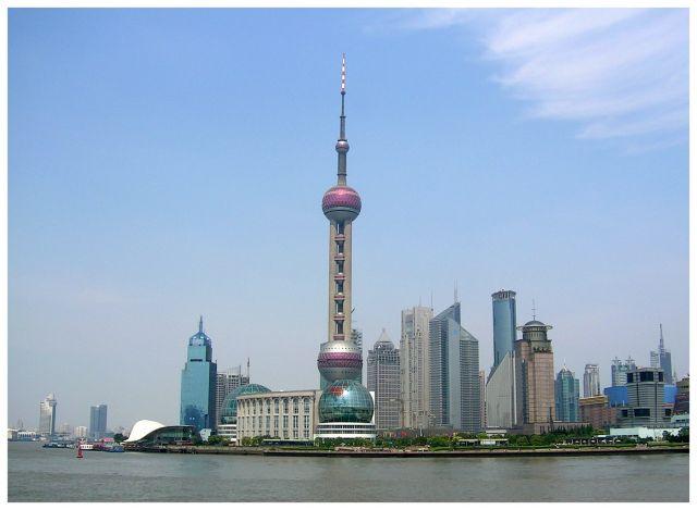 Zdjęcia: Pudong, Shanghai, Chiński Manhattan?, CHINY