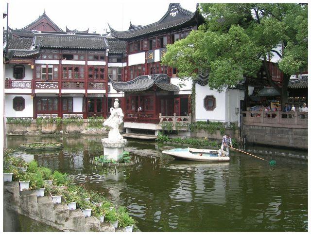 Zdjęcia: Ogrod Yuyuan, Shanghai, Chińszczyzna  ogrodowa, CHINY
