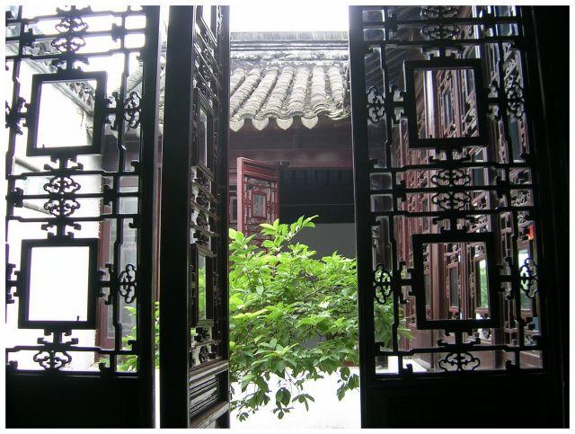 Zdjęcia: Suzhou, Chiny Wschodnie, Wejście do ogrodu, CHINY