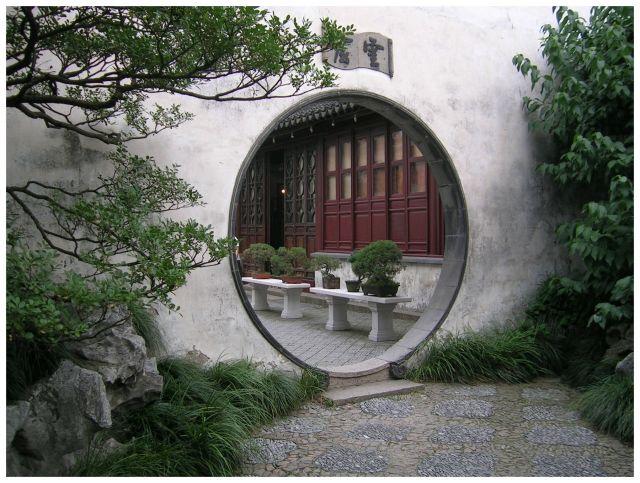 Zdj�cia: Suzhou - Ogr�d Mistrza Sieci, Chiny Wschodnie, Przej�cie , CHINY