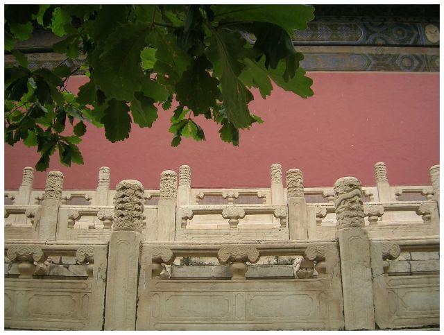 Zdjęcia: Okol.Pekinu, Grobowce Mingów, ChinyPółnocne, Balustrada, CHINY