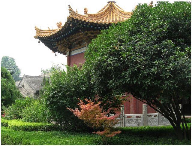 Zdjęcia: Xi'an, Chiny północne, Pawilon - Muzeum Kamiennych steli, CHINY