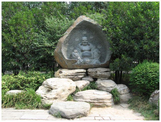 Zdjęcia: Xi'an, Chiny północne, Budda w wydaniu chińskim, CHINY