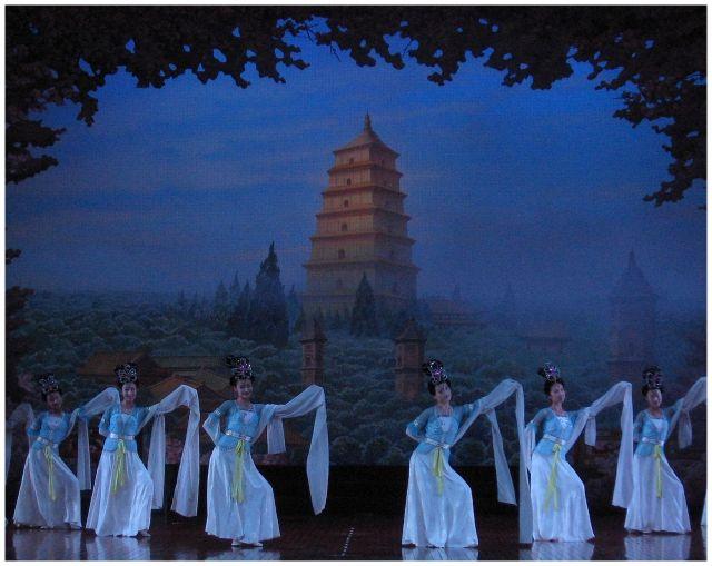 Zdjęcia: Xi'an, Chiny północne, Troche orientu - przedstawienie, CHINY