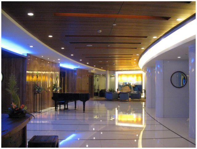 Zdjęcia: Guangzhou/Kanton - hall hotelu Ocean, Chiny południowe, Marmurowo..., CHINY