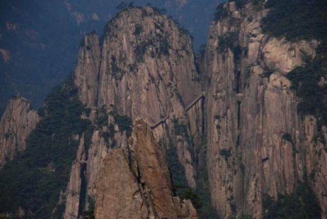 Zdjęcia: Huangshan, Srdokowy wschod, Szlak tylko dla odwaznych, CHINY