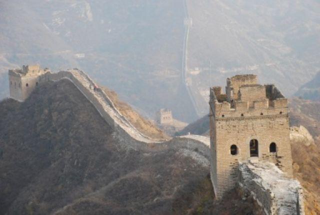 Zdjęcia: Wielki Mur, Polnoc, Samotnie na murze, CHINY