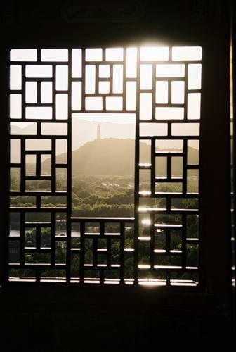 Zdjęcia: Pekin, widok z Pałacu Letniego na pobliską pagodę, CHINY