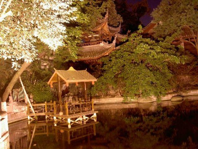 Zdjęcia: Lanzhou, Gansu, miasto noca, CHINY