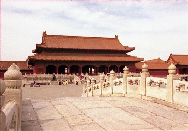 Zdjęcia: Beijing - Zakazane Miasto, Most na Złotej Rzece i Brama Najwyższej Harmonii, CHINY