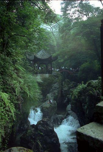 Zdjęcia: Emei Shan, Na szlaku , CHINY