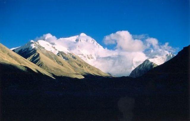 Zdjęcia: Lodowiec od pn, Tybet, Mt Everest z Tybetu, CHINY