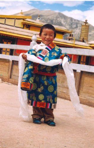 Zdjęcia: Lhasa, Tybet, dziecko tybetanskie, CHINY
