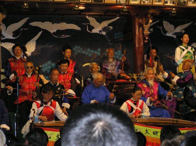 Zdjęcia: Lijang, południe Chin, sławna orkiestra z Lijang, CHINY