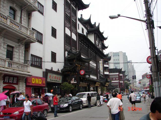 Zdjęcia: Szanghaj, Szanghaj , Stare i nowe, CHINY