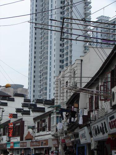 Zdjęcia: Szanghaj, Szanghaj , Budynek -2-, CHINY
