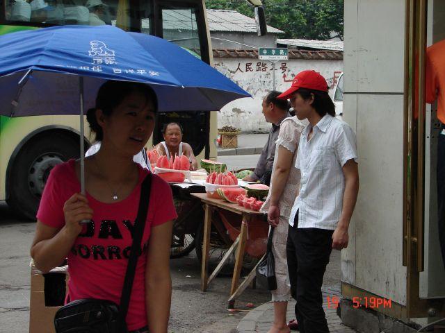 Zdjęcia: Szanghaj, Szanghaj , Przeciwsloneczne arbuzy, CHINY