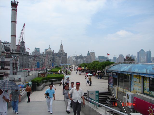 Zdjęcia: Pudong, Szanghaj , Bulwar, CHINY