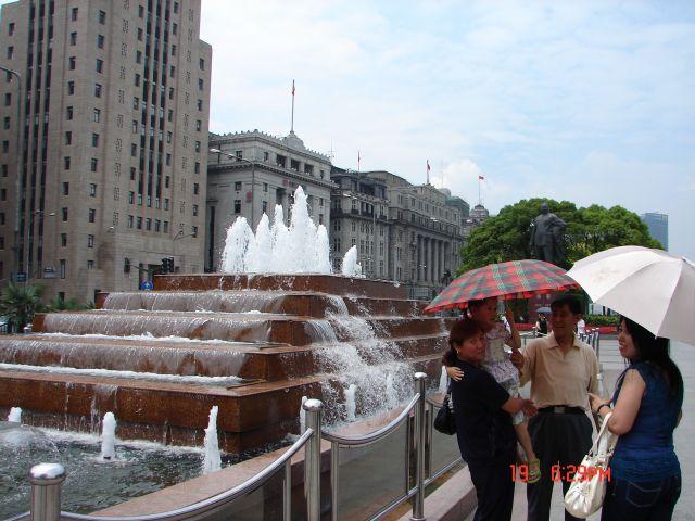 Zdjęcia: Pudong, Szanghaj , Pod parasolami, CHINY