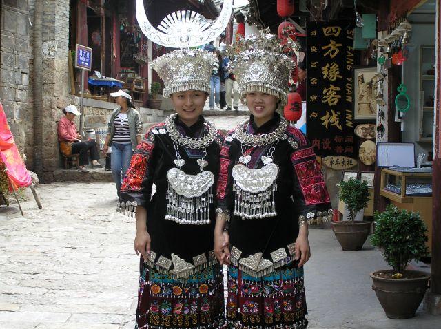 Zdjęcia: Zhouzhuang, okolice Shanghaju, dziewczyny, CHINY