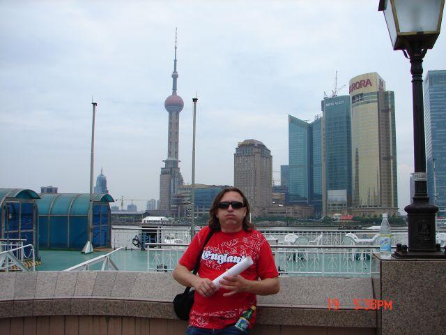 Zdjęcia: Pudong, Szanghaj , Pudong--goraco, CHINY