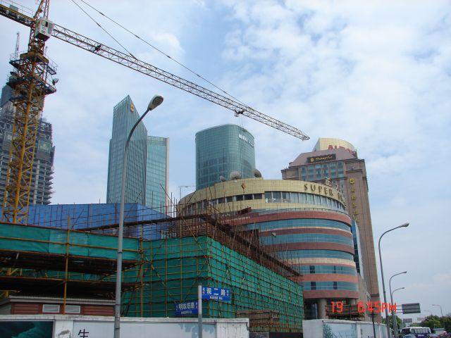 Zdjęcia: Pudong, Szanghaj , Pudong -- buduje sie nowe, CHINY