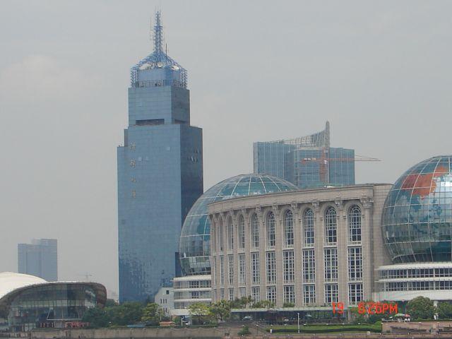 Zdjęcia: Pudong, Szanghaj , Obok perelki, CHINY