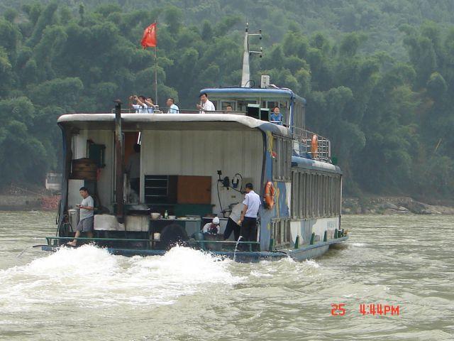 Zdjęcia: Guilin, Guangzo, Odplywamy, CHINY