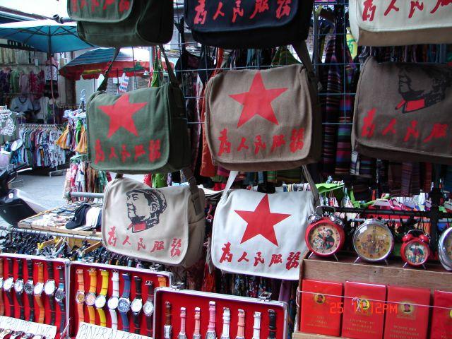 Zdjęcia: Guilin, Guangzo, Torba z Mao, CHINY