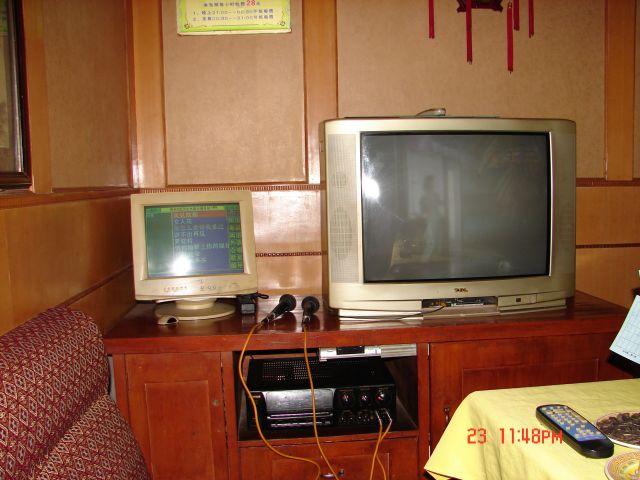 Zdjęcia: Nanning, Guangzo, Karaoke room ,w restauracji (mozna robic wszystko ,oprocz seksu), CHINY