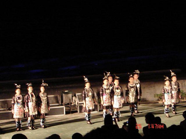 Zdjęcia: Yangsao, GUAGZOU, Wystep, CHINY