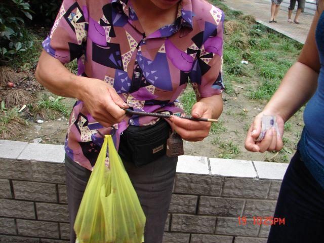 Zdjęcia: Nanning, GUANZOU, Waga, CHINY