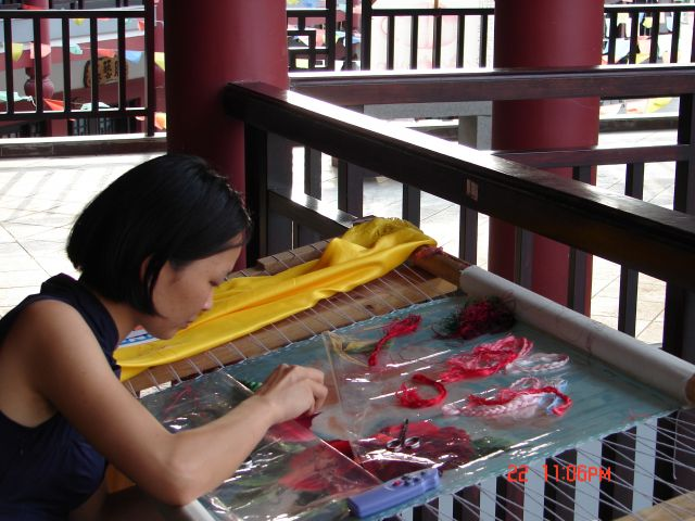 Zdjęcia: Nanning, GUANZOU, Prace reczne, CHINY