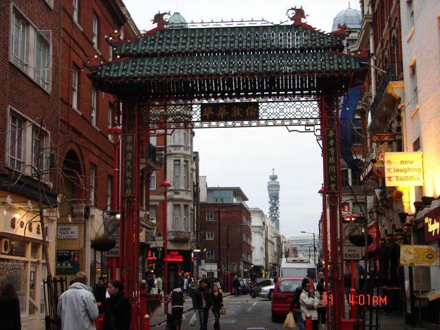 Zdjęcia: Londyn, UK, London Chinatown -Brama wejsciowa, CHINY