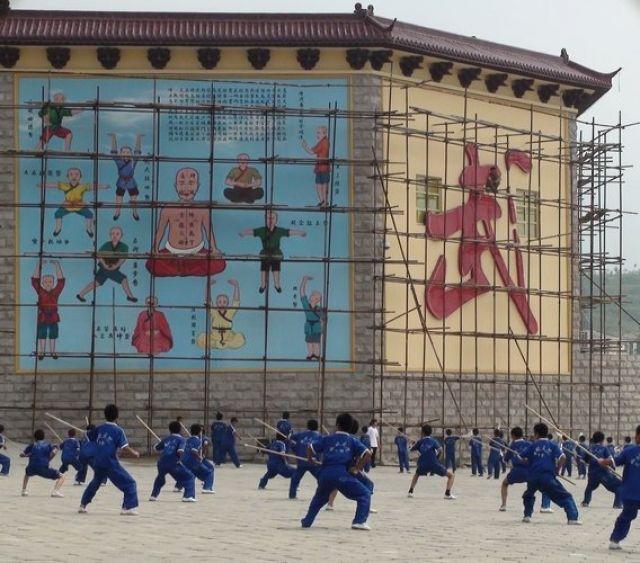 Zdjęcia: SCHAOLIN, współczesny SCHAOLIN, CHINY