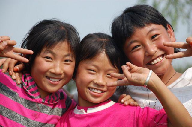 Zdjęcia: Pingyao, Przesympatyczne Dzieciaki :), CHINY