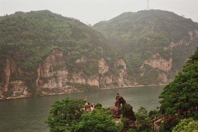 Zdjęcia: Yichang, Hubei, wąwóz Xiling, CHINY